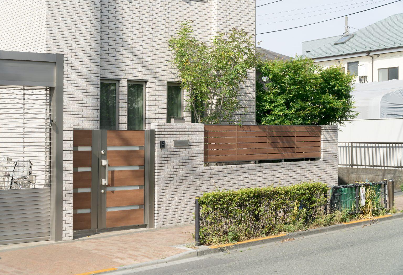 住宅の外構デザインイメージ